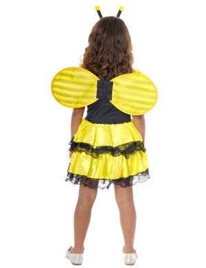 Bumble Bee Girls Black and Yellow Dress Up Costume