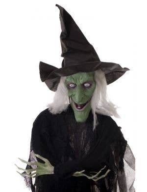 Hanging Animated Wicked Witch Halloween Decoration