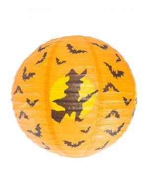 Witch and Bats Paper Lantern Halloween Decoration