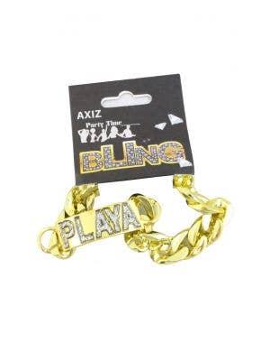 Glitter Playa Gangster Costume Bracelet