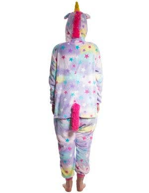 Rainbow Star Women's Unicorn Onesie Costume