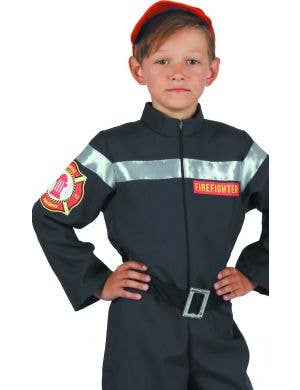 Firefighter Boy's Fancy Dress Costume