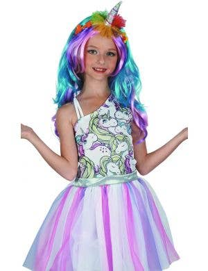Unicorn Magical Girl's Fancy Dress Costume