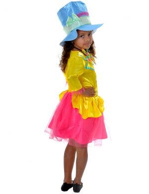 Mad Hatter Girl's Alice in Wonderland Dress Up Costume