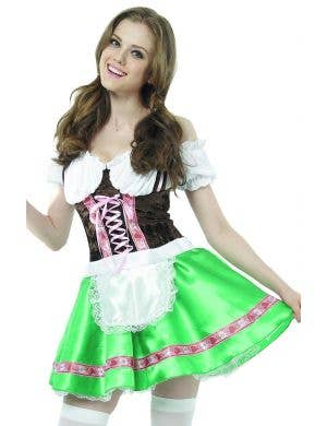 German Beer Girl Women's Traditional Oktoberfest Costume