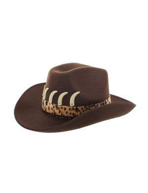 Crocodile Dundee Brown Feltex Costume Hat