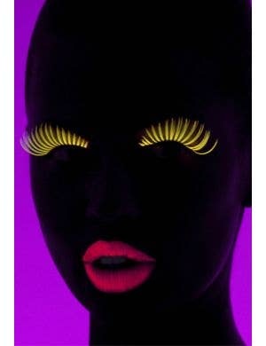 Eyelash Mascara UV Reactive Special Effects - Neon Yellow