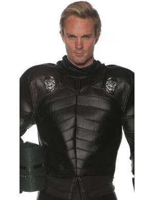 Skull Warrior Men's Plus Size Medieval Knight Costume