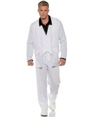 Hustle Men's Plus Size Saturday Night Fever Disco Costume