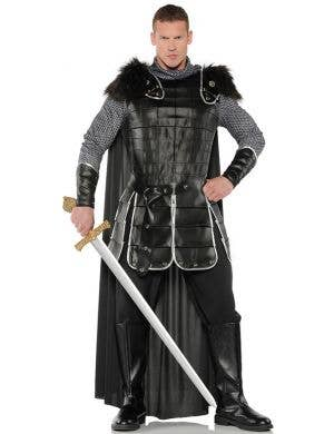 Warrior King Men's Medieval Fancy Dress Costume