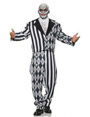 The Jester Men's Plus Size Halloween Costume