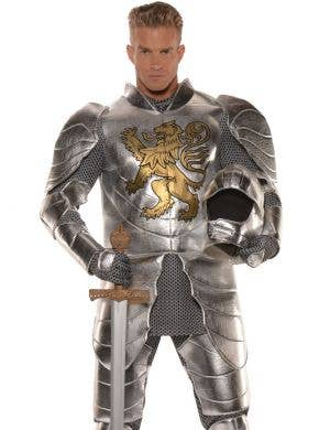 Knight In Shining Armour Plus Size Men's Costume