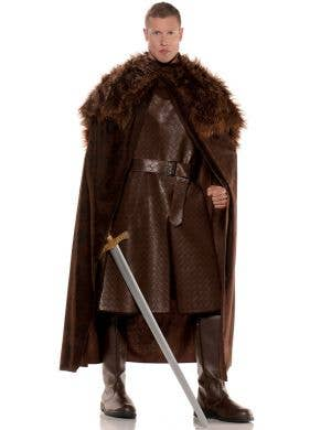 Game of Thrones Men's Renaissance Brown Cape