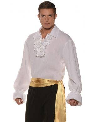 High Seas Pirate Bandit Men's Plus Size Fancy Dress Costume