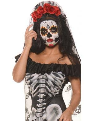 Day of the Dead Women's Mexican Fancy Dress Costume
