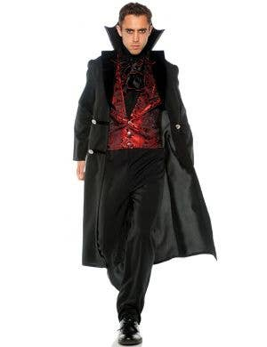 Gothic Vampire Men's Plus Size Halloween Costume