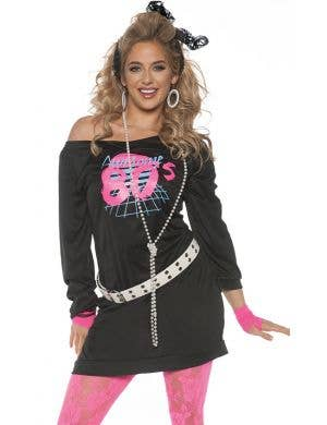 Awesome 80's Women's Fancy Dress Costume