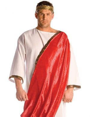 Roman Emperor Men's Fancy Dress Costume