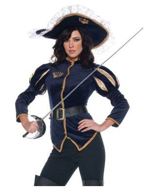Ms Charming Women's Musketeer Costume