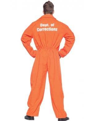 Orange Convict Men's Prisoner Costume