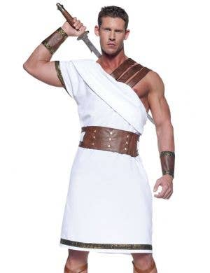Greek Warrior Men's Fancy Dress Costume