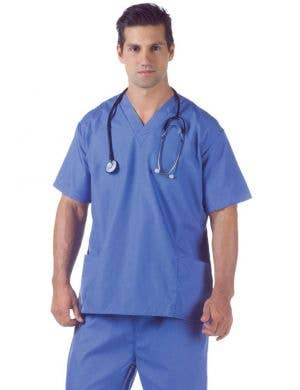 Hospital Scrubs Men's Doctor Costume