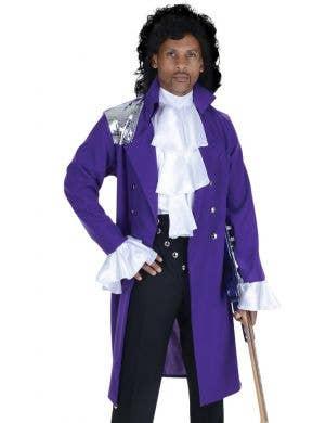 Pop Star Prince Plus Size Men's Fancy Dress Costume