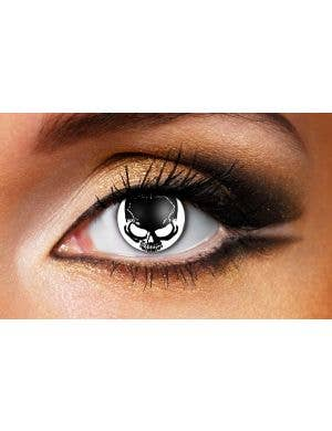 Skull 90 Day Wear Horror Contact Lenses