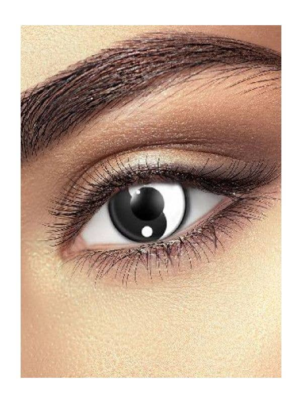 Ying and Yang Contact Lenses Costume Accessory Main Image