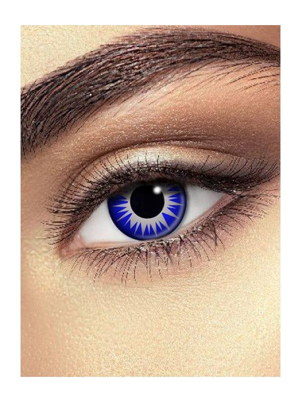 Icicle Blue Contact Lenses Costume Accessory Main Image