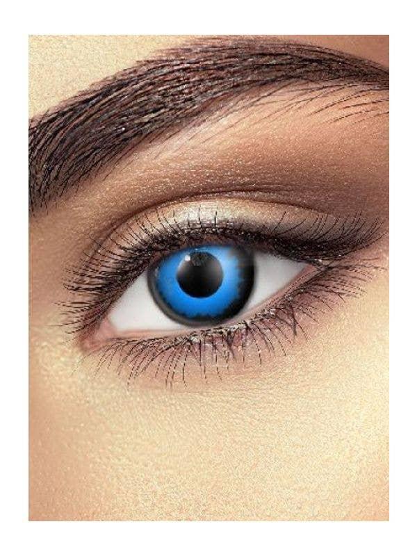 Blue Elf Contact Lenses Costume Accessory - Main Image