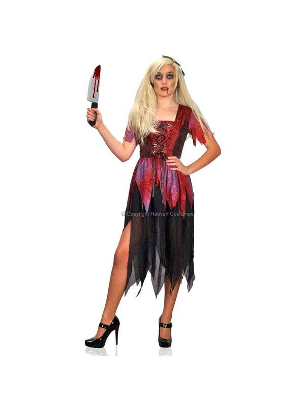 Women's Halloween Cinderella Fancy Dress Costume Main Image