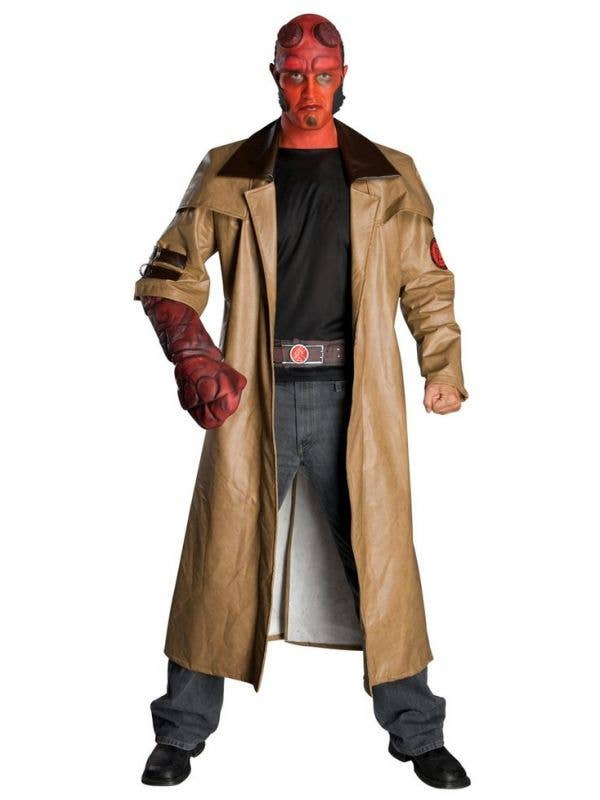 Hellboy Costume Adults Licensed Hellboy Movie Plus Size Costume