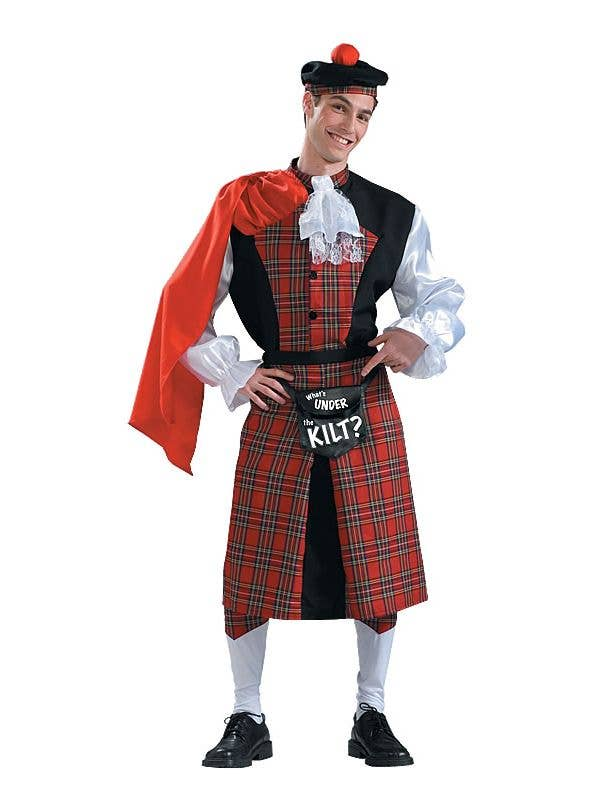 Scottish Kilt Costume Scotsman Whats Under The Kilt Men