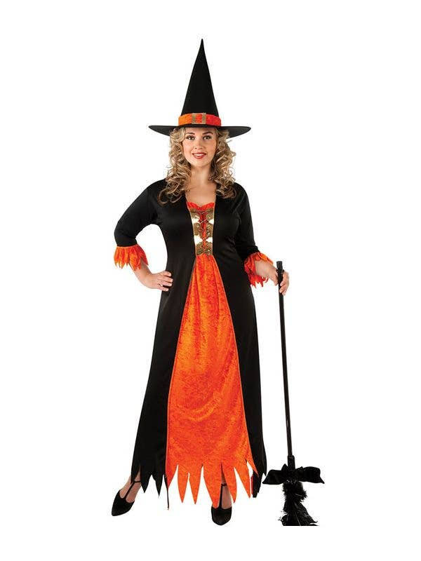 8fffe8ad3b4 Gothic Witch Plus Size Halloween Costume