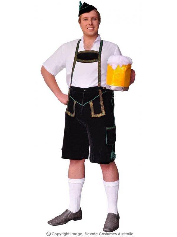 bc98ebe3be Slap Dance Plus Size Oktoberfest Costume | German Lederhosen Costume
