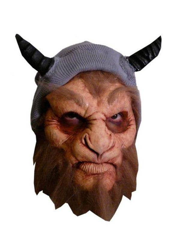 satyr foam latex face mask prosthetic halloween costume mask