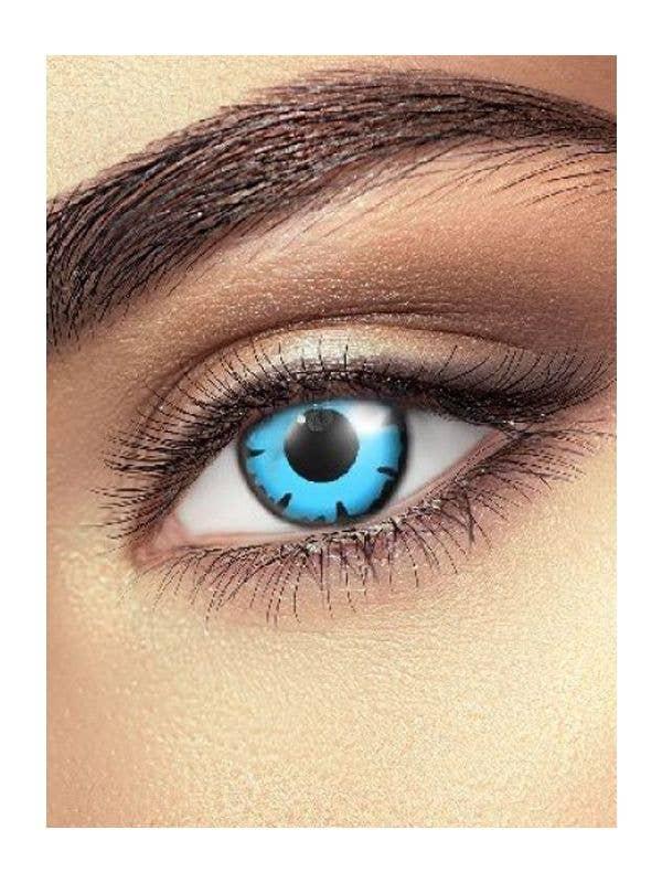 Blue Wizard Coloured Contact Lenses Australia - Main Image