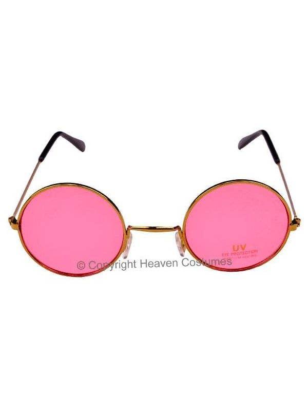 34588c6f2c Pink Round John Lennon Glasses