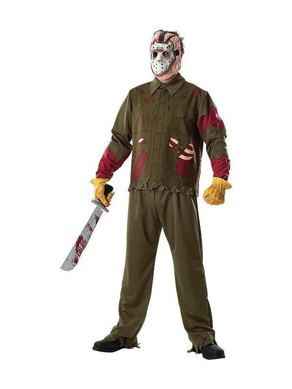 Halloween Costume Jason Friday 13th.Friday The 13th Jason Men S Halloween Costume