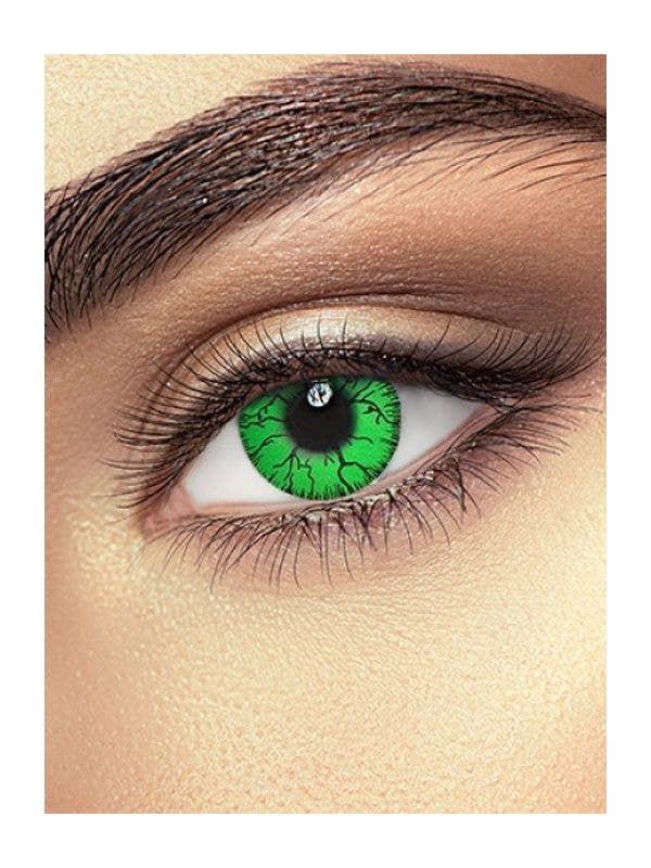 Hulk Green 24 Hour Wear Contact Lenses Main Image