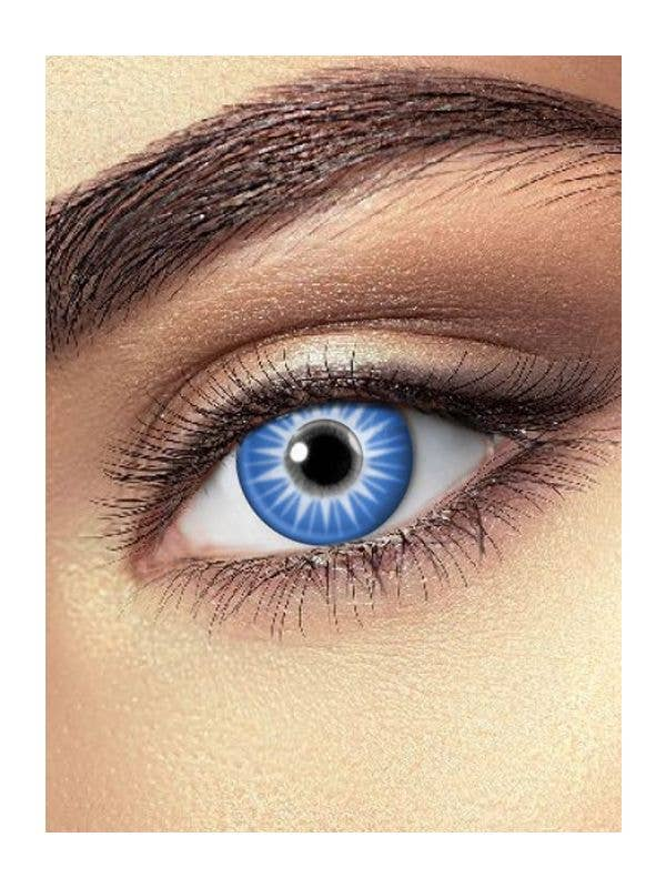 Ice Blast Blue Contact Lenses One Day Wear - Main Image