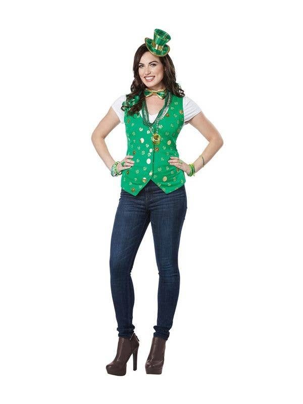 Women's Luck of the Irish St Patricks Day Fancy Dress Costume