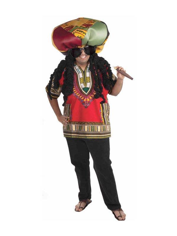 d56e8131a Rasta Ridiculous Men's Jamaican Costume