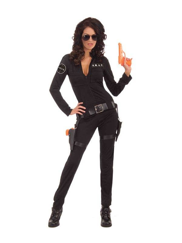 Women s Sexy SWAT Team Police Costume 9a22762d50c6c