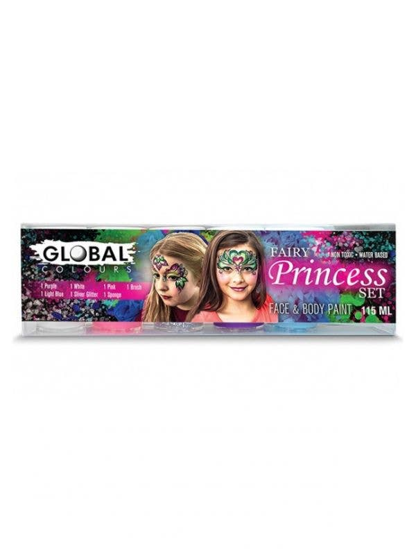 5 Colour Fairy Princess Face and Body Makeup Paint Set