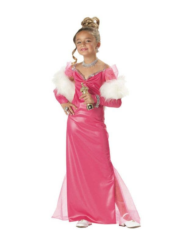 Hollywood Girls Costumes Movie Starlet Girls Fancy Dress Costume