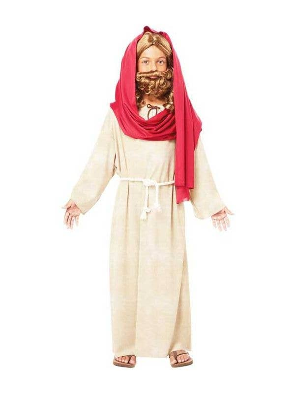 681881d27 Boy's Jesus Christmas Bible Nativity Fancy Dress Costume Front