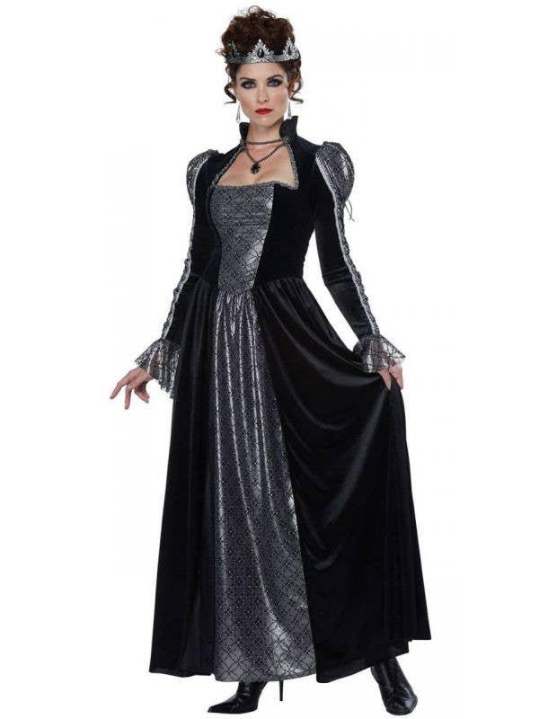 Women's Evil Dark Majesty Halloween Costume Front Image
