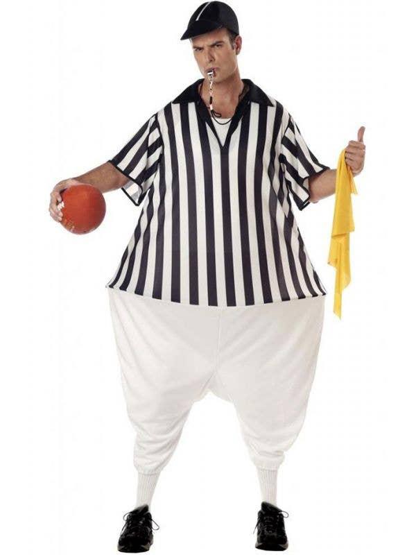 Fat Umpire Men's Novelty Fancy Dress Costume